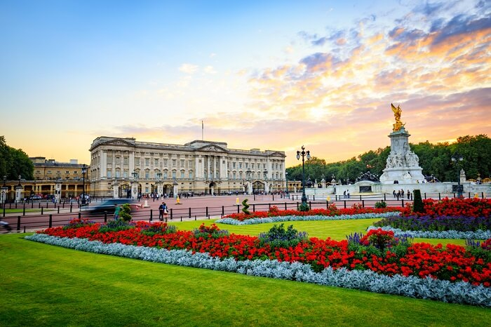 top palaces london