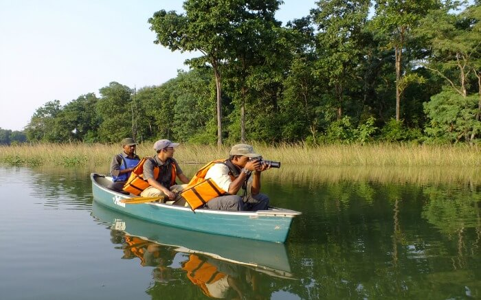 canoeing in Satpura national park