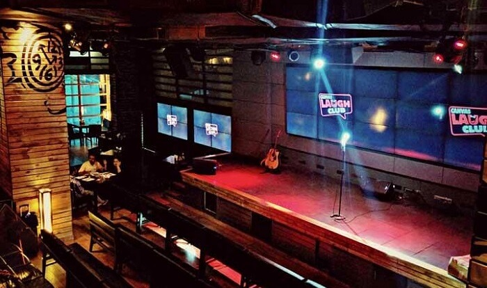 comedy club in lower parel