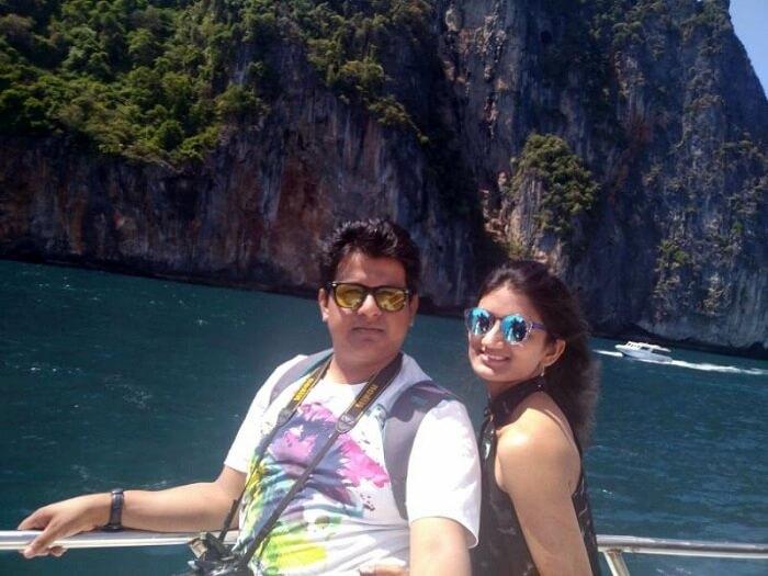 Phi Phi island tour in Thailand