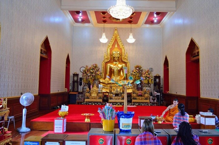 Golden Buddha Temple view
