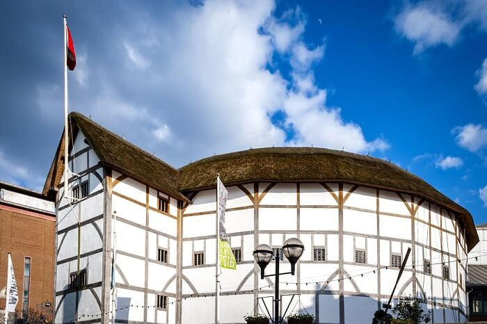 shakespeare glob theatre london