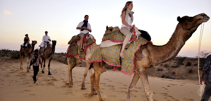 bachelor party in jaisalmer with friends
