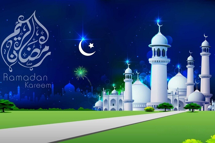 An indicative poster of the festival of Ramadan