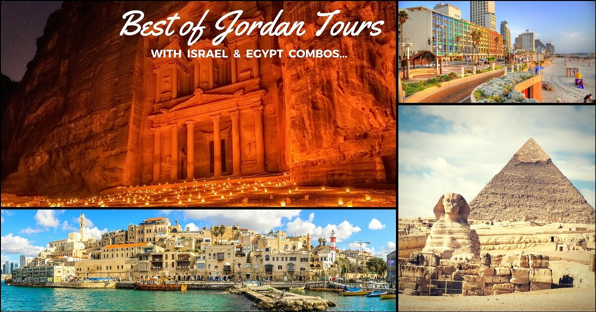 Map Jordans And Jordan Travel: 6 Jordan Tours: Trips To Middle-East's Easy Going Places