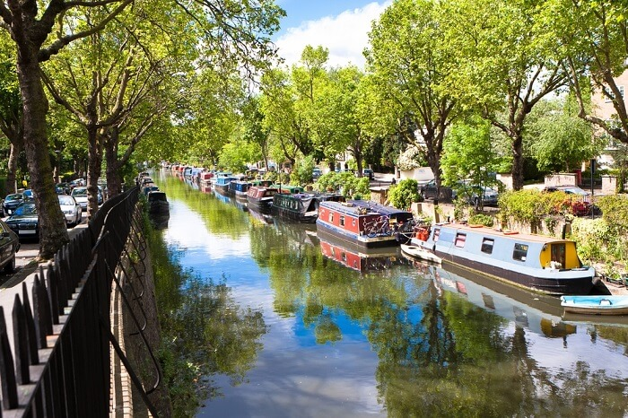 grand canal in london