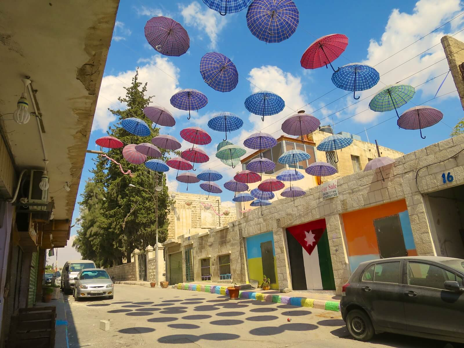 Rainbow Street in Amman