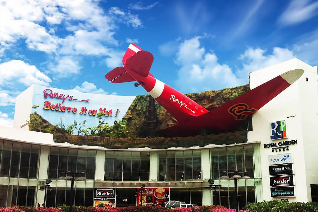 Ripleys believe it or not mueseum in Pattaya