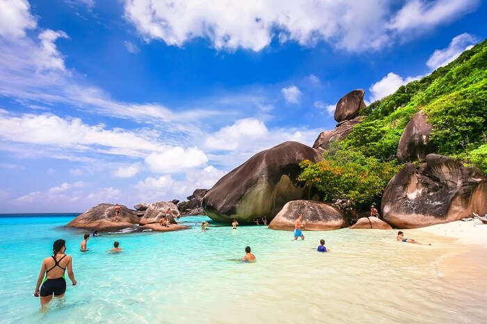similan islands in thailand