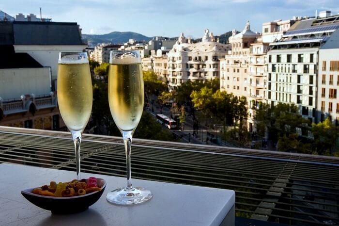 rooftop bars barcelona