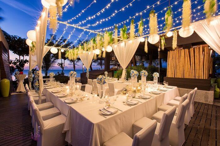 reception at w retreat thailand