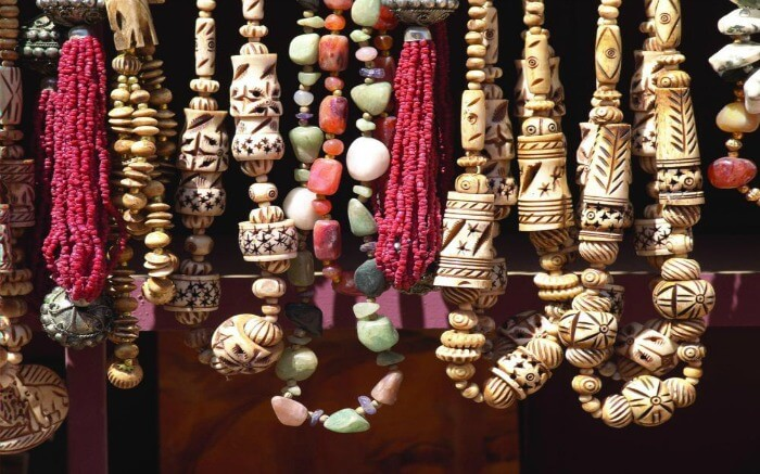 traditional Bedouin jewelry in