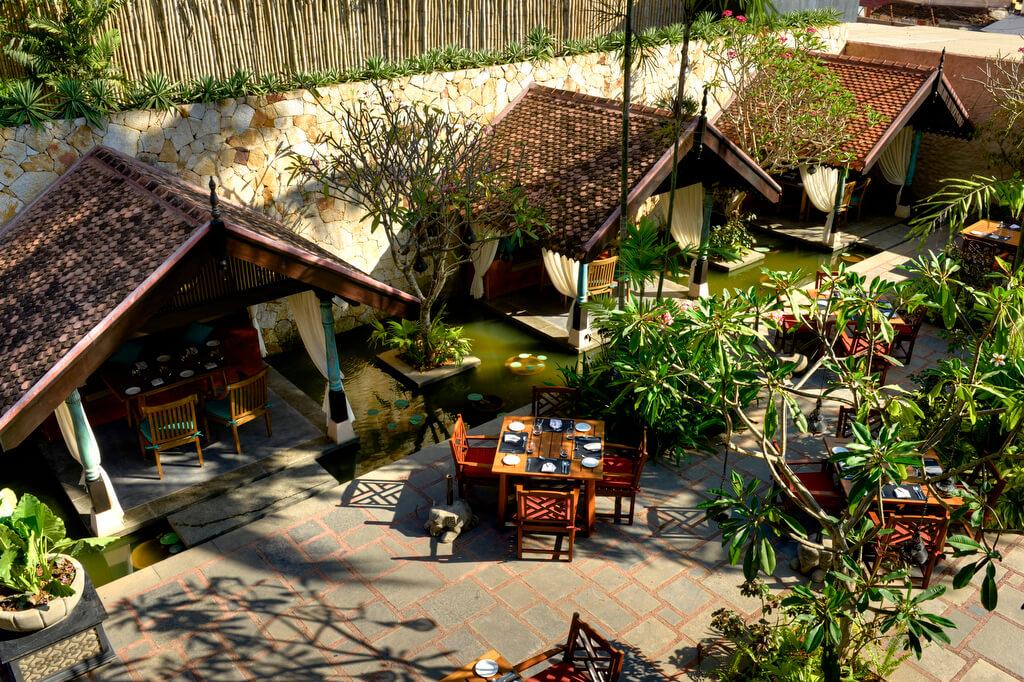 Villa Maya Restaurant in Kovalam