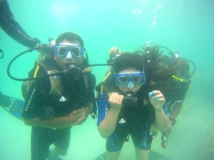 scuba dive in havelock