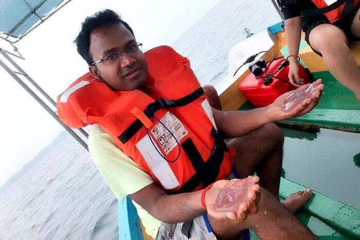 glass bottom boat tour