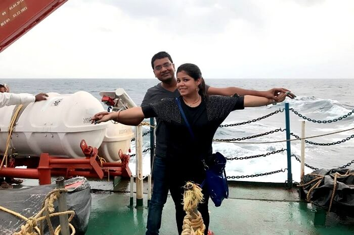 ferry ride in andaman