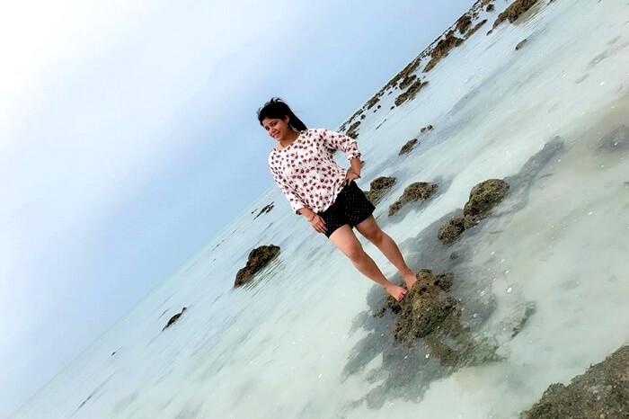 blue waters of havelock island