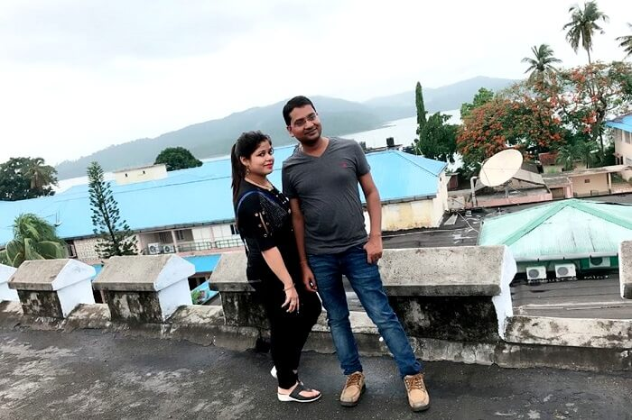 couples trip to port blair