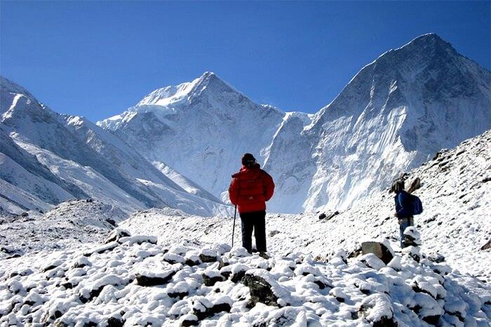Bagini Glacier Trek, India