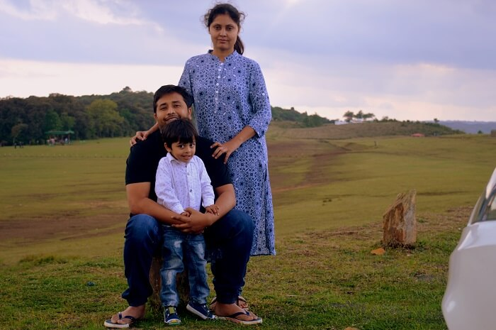 family trip to meghalaya