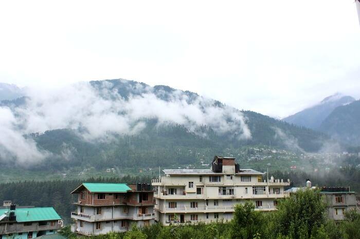 landscape near manali
