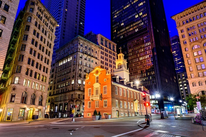 Old State House in Boston