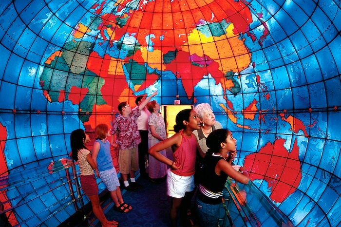 The Mapparium, Boston
