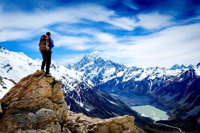 trekking in Himalayas