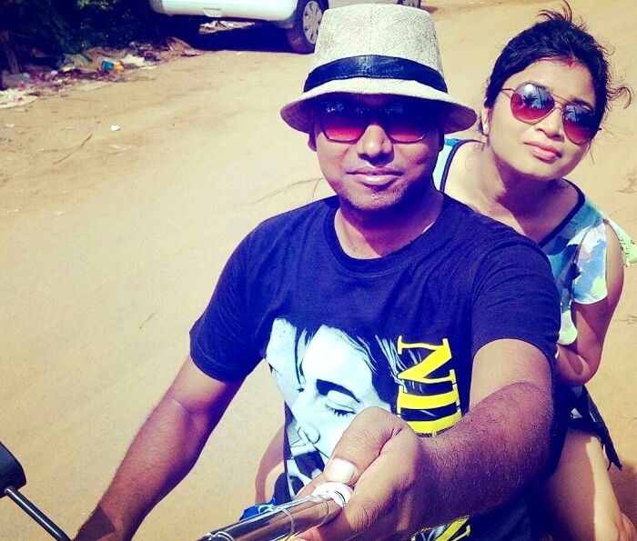 bike ride in goa