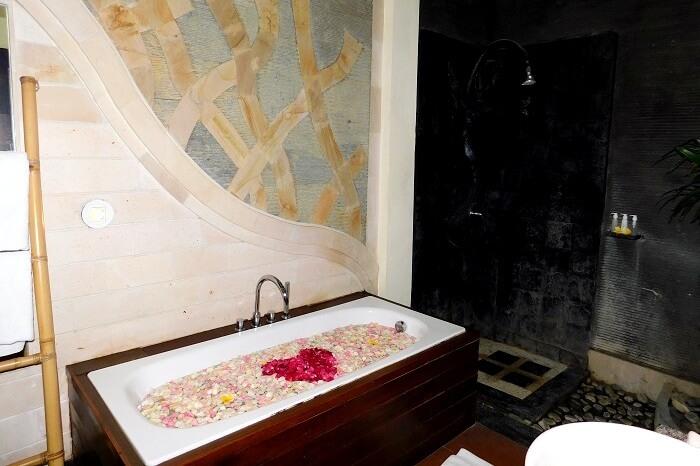 honeymoon suite in Bali