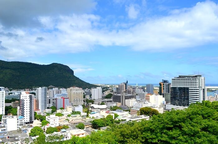 scenic view of port louis
