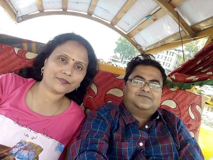 romantic trip to srinagar