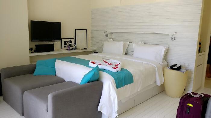 view of room holidaay inn maldives