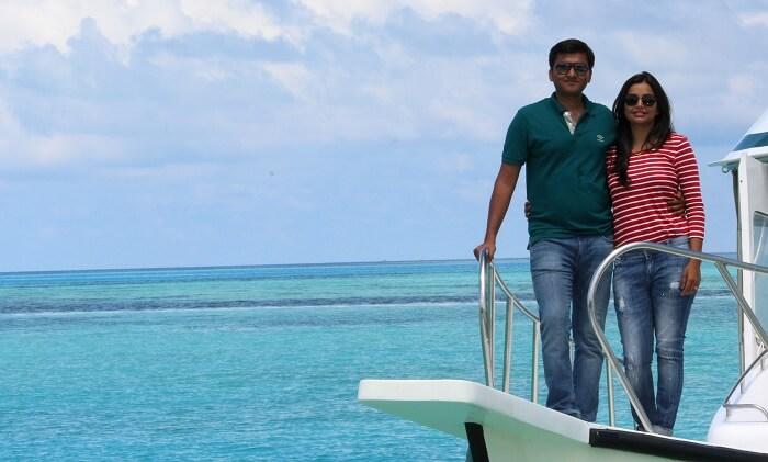 a ride on coast guard maldives