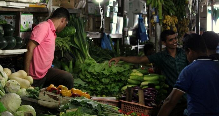 local vegetable market maldives