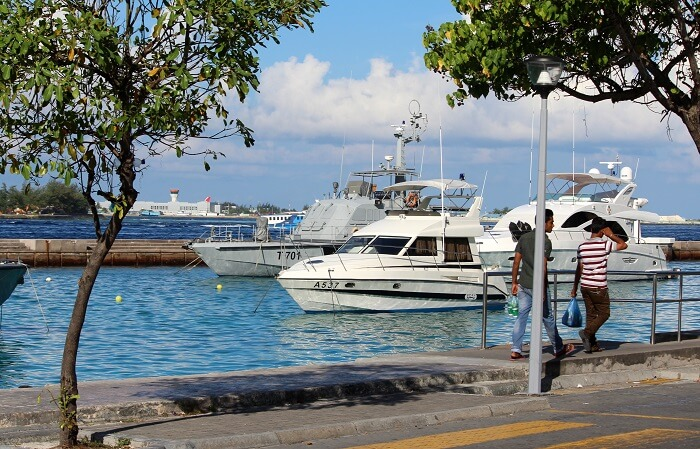 temperature in maldives
