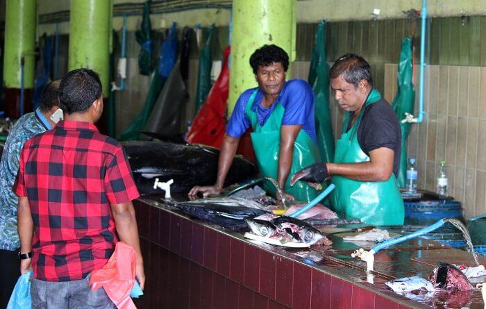 local markets in maldives