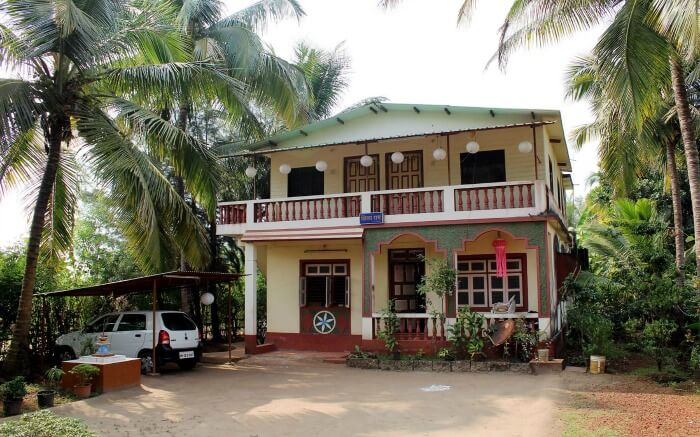 Front view of Viki Holiday Home in Maharashtra