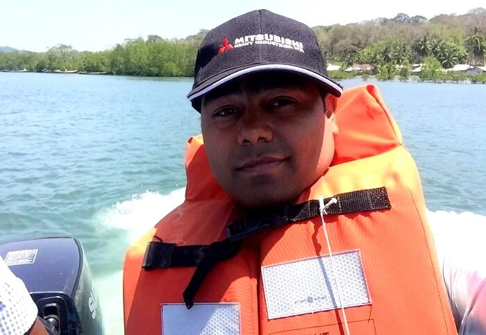speed boat ride in andaman