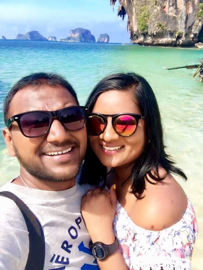 couple in krabi island