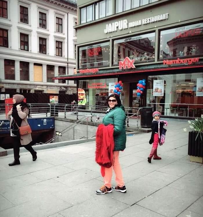 Indian restaurant in Norway