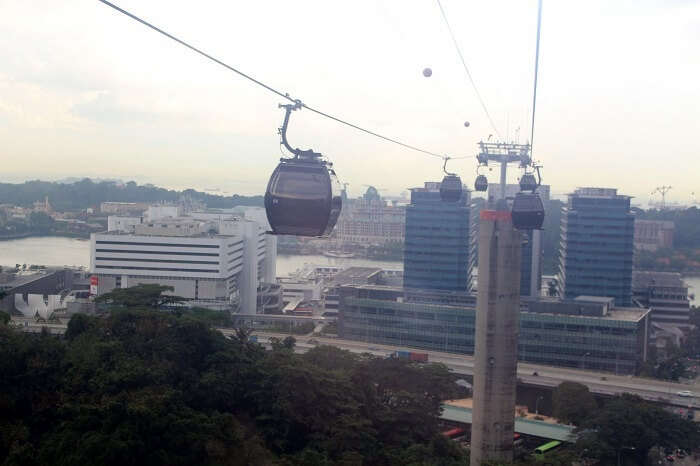 sentosa cable car ride