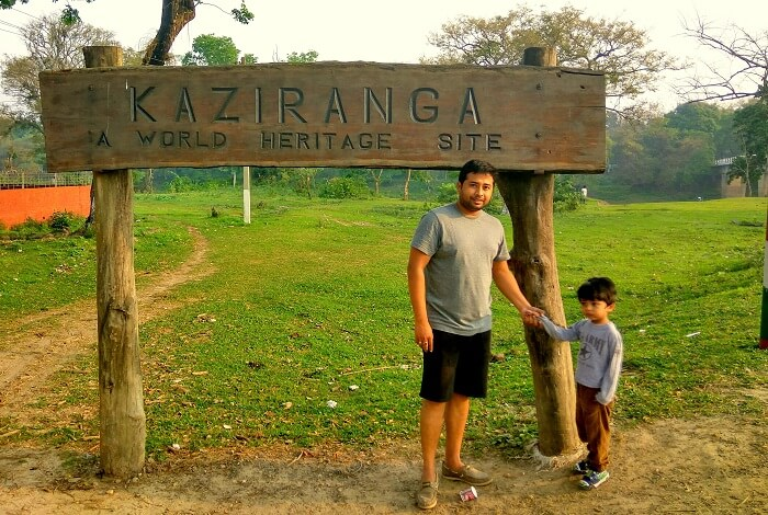jungle safari in kaziranga