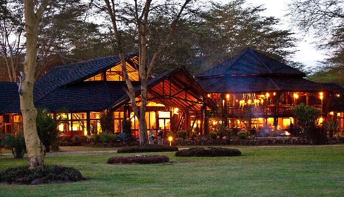 A honeymoon lodge in Kenya