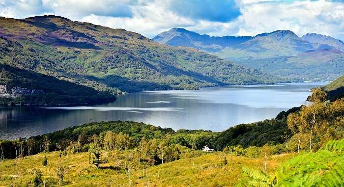 famous lakes in scotland