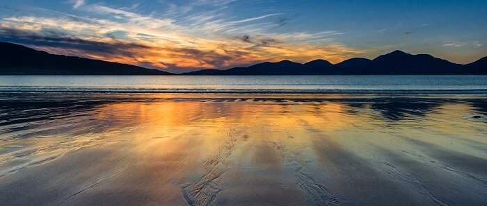 Famous beaches in scotland