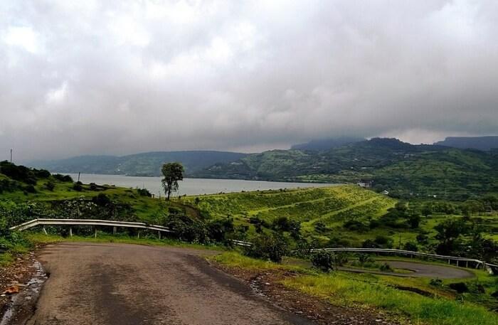 Pawna Dam View