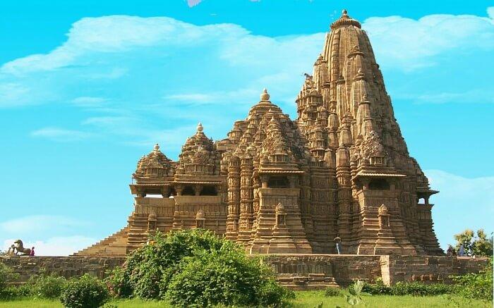 The beautiful Khajuraho temple