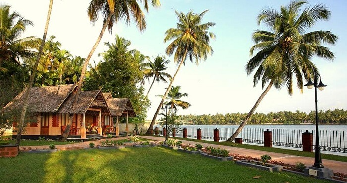 eco-friendly cheap romantic resort in cochin