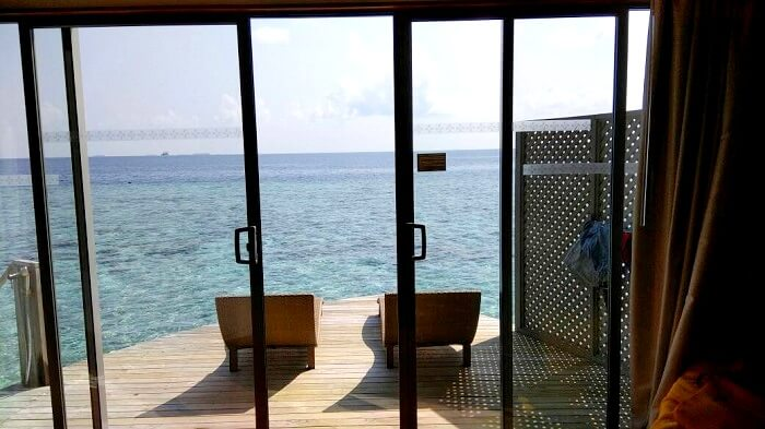 water villa in maldives